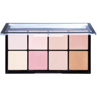Makeup Revolution Ultra Pro Glow paleta rozjasňovačů 20 g dámské 20 g