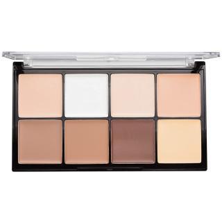 Makeup Revolution Ultra Pro HD Fair paleta na kontury obličeje krémová 20 g dámské 20 g