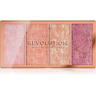 Makeup Revolution Vintage Lace paleta tvářenek 4 x 5 g dámské 4 x 5 g