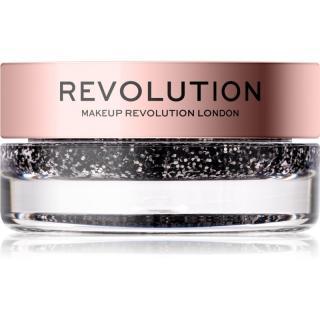 Makeup Revolution Viva Glitter Balm Pot třpytky odstín Blackout 3,2 g dámské 3,2 g