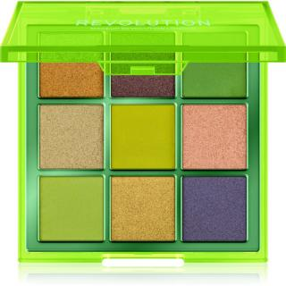 Makeup Revolution Viva Neon paletka očních stínů odstín Up All Night 11,25 g dámské 11,25 g