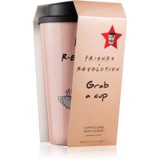 Makeup Revolution X Friends Espresso kávový tělový peeling   kelímek na kávu 260 g dámské 260 g
