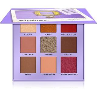 Makeup Revolution X Friends paletka očních stínů odstín Monica 9 g dámské 9 g