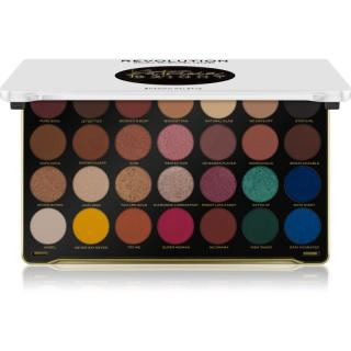 Makeup Revolution X Patricia Bright paleta očních stínů odstín Rich In Life 33,6 g dámské 33,6 g