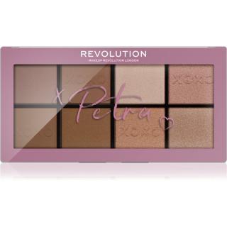 Makeup Revolution X Petra XOXO paletka na tvář 16 g dámské 16 g