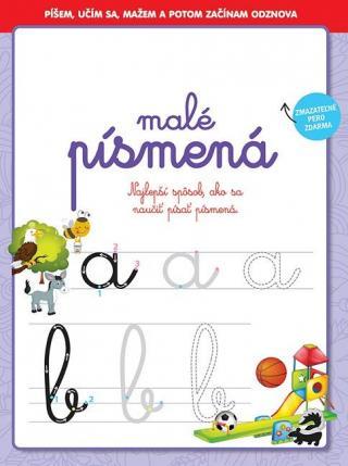 malé písmená - Najlepší spôsob ako sa naučiť písať písmená