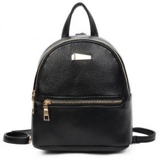 Malý batoh pro teenagery - 3 barvy Barva: černá