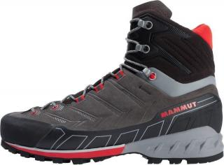 Mammut Kento Tour High GTX Mens Shoes Dark Titanium/Dark Spicy UK 8,5  #928399 pánské Grey UK 8,5