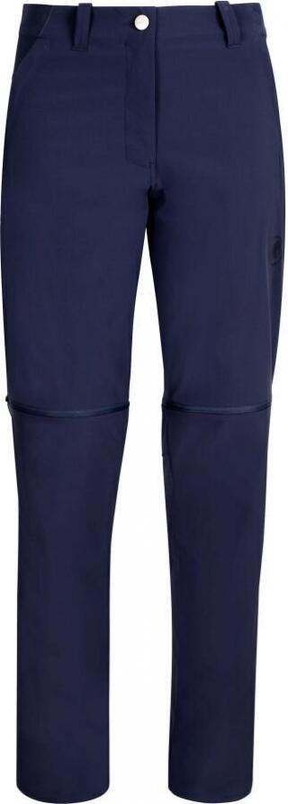 Mammut Runbold Zip Off Womens Pants Peacoat 38 dámské Dark Blue 38