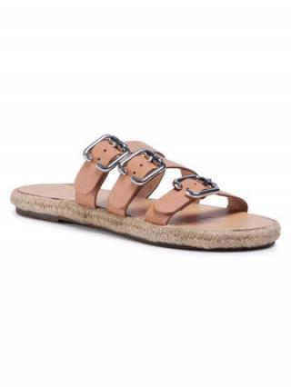 Manebi Espadrilky Leather Sandals S 2.0 Y0 Béžová dámské 36