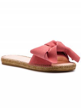 Manebi Espadrilky Sandals With Bow M 2.0 J0 Růžová dámské 35