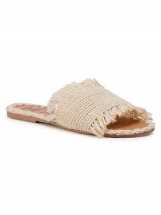 Manebi Nazouváky Leather Sandals S 1.5 Y0 Béžová dámské 36