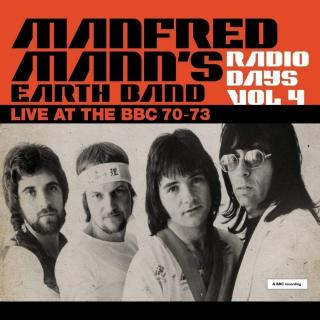 Manfred Manns Earth Band Radio Days Vol. 4 - Live At The BBC 70-73  Black