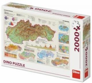 Mapa Slovenska 2000 Puzzle