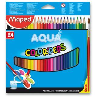 Maped Pastelky Color´Peps Aqua, 24 barev