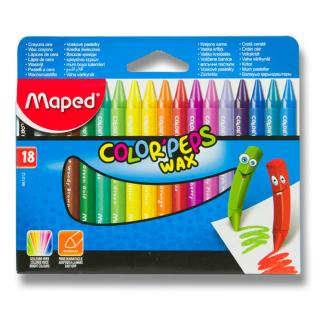 Maped Voskovky Color´Peps Wax, 18 barev