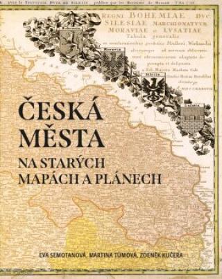 Mapy měst českých zemí