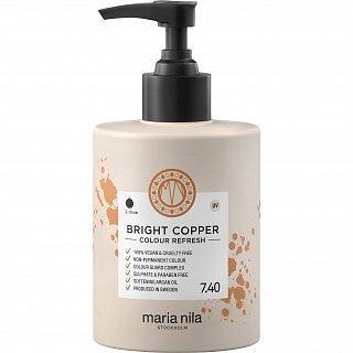 Maria Nila Bright Copper Colour Refresh vyživující maska s barevnými pigmenty pro oživení měděných odstínů 300 ml