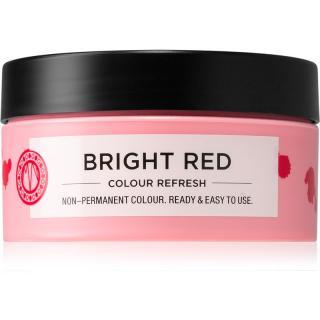 Maria Nila Colour Refresh Bright Red jemná vyživující maska bez permanentních barevných pigmentů výdrž 4 – 10 umytí 0.66 100 ml dámské 100 ml