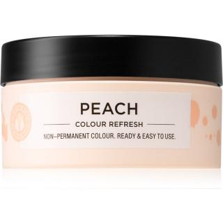 Maria Nila Colour Refresh Peach jemná vyživující maska bez permanentních barevných pigmentů výdrž 4 – 10 umytí 9.34 100 ml dámské 100 ml