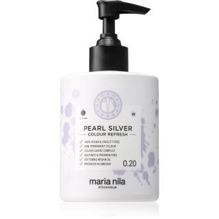 Maria Nila Colour Refresh Pearl Silver jemná vyživující maska bez permanentních barevných pigmentů výdrž 4 – 10 umytí 0.20 300 ml dámské 300 ml