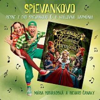 Mária Podhradská, Richard Čanaky – Piesne z DVD Spievankovo 6 a Kráľovná Harmónia CD