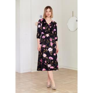 Marie Zélie Womans Dress Greta Prenumbra dámské Black 34