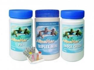 Marimex AQuaMar START chemical shock set. Triplex Mini. pH. tester