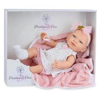 Marina & Pau 1612-K Panenka s dečkou - miminko New Born holčička