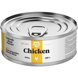 MARTY Essential pro kočky 100% maso - kuřecí 100 g