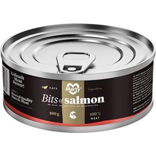 MARTY Signature 100% maso - kousky lososa 100 g