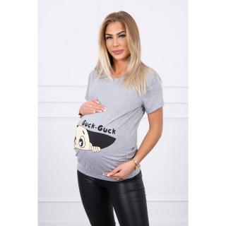 Maternity blouse Guck gray dámské Neurčeno M-L-XL