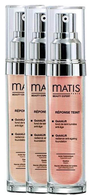 Matis Paris Rozjasňující make-up pro omlazení pleti QuickLift  30 ml Dark Beige dámské