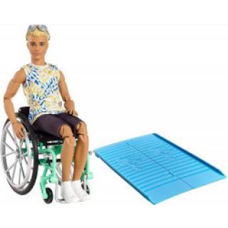 Mattel Barbie Model Ken na invalidním vozíku