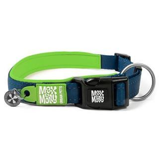 Max & Molly Smart ID obojek polostahovací, Matrix Lime Green, Velikost M