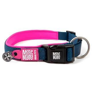 Max & Molly Smart ID obojek polostahovací, Matrix Pink, Velikost S