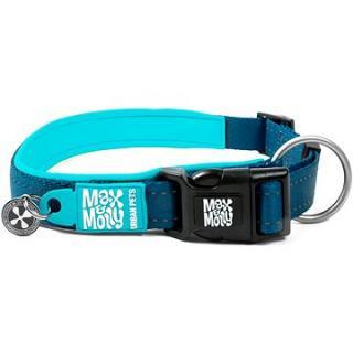 Max & Molly Smart ID obojek polostahovací, Matrix Sky Blue, Velikost L