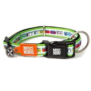 Max & Molly Smart ID obojek polostahovací, Traffic Jam, Velikost S