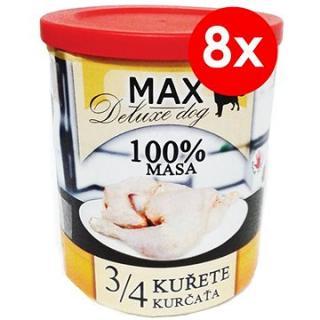 MAX deluxe 3/4 kuřete 800 g, 8 ks