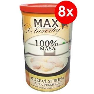 MAX deluxe kuřecí stehna 1200 g, 8 ks