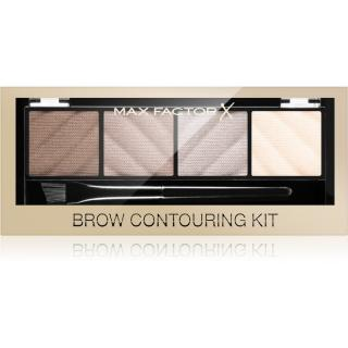 Max Factor Brow Contouring Kit konturovací paletka na obočí 1,8 g dámské 1,8 g