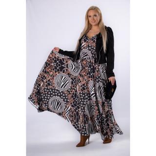maxi dress with a tie dámské Neurčeno One size