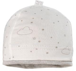 Maximo dětská kojenecká čepička z organické bavlny 39 bílá 39