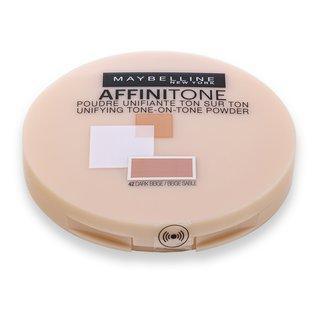 Maybelline Affinitone 42 Dark Beige pudr 9 g