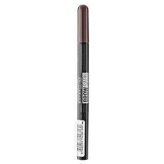 Maybelline Brow Satin Black Brown tužka na obočí 2v1 9 g