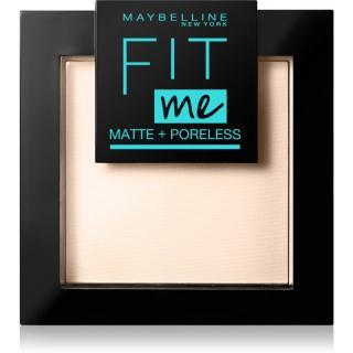 Maybelline Fit Me! Matte Poreless matující pudr odstín 105 Natural Ivory 9 g dámské 9 g