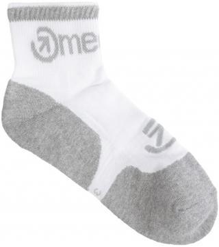 Meatfly Ponožky Middle - S21 White 42-45