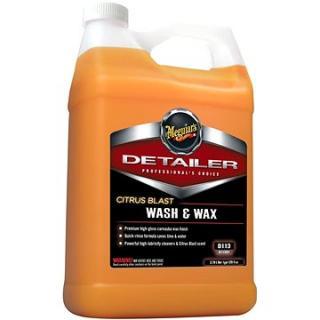 Meguiars Citrus Blast Wash & Wax - špičkový profesionální autošampon s voskem a citrusovou vůní, 3,