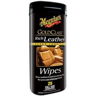 MEGUIARS Gold Class Rich Leather Wipes