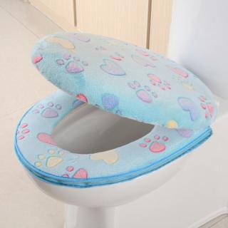 Měkký potah na záchodové prkénko 2 ks Barva: modrá